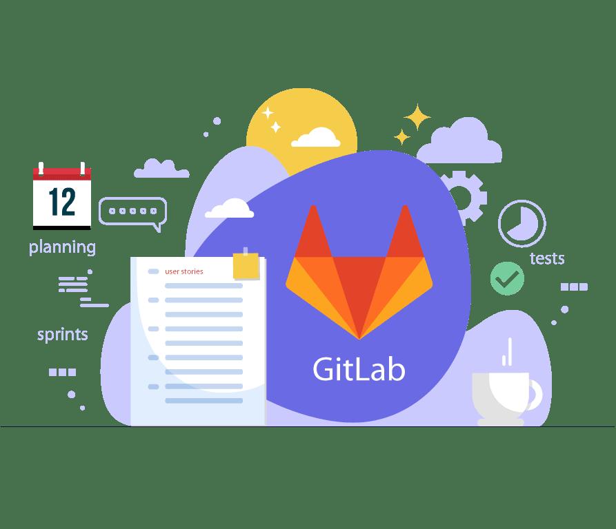 Intégration continue gitlab application web