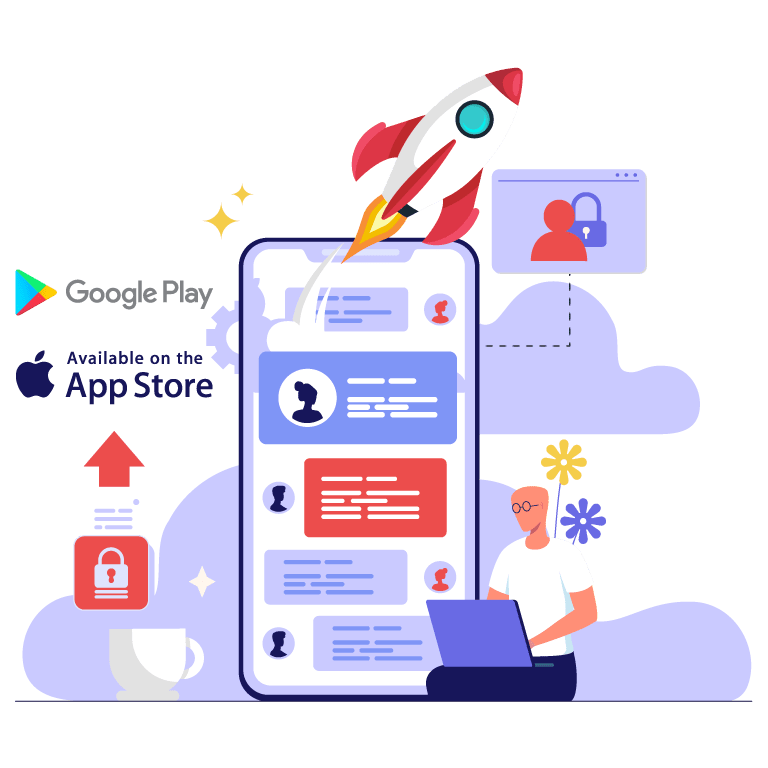 Livraison application mobile